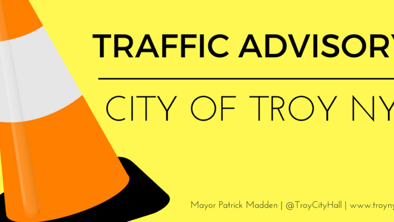 Troy Officials Issue Traffic Advisory for Brunswick Road