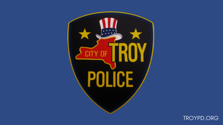 Troy Police Announce Arrest in Bank Robbery
