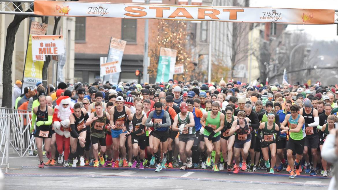 Registration Open for 70th Running of Troy Turkey Trot