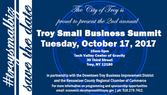 Mayor Madden Announces Second Annual Troy Small Business Summit