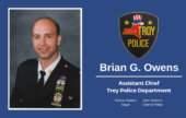 Mayor Madden Announces Promotion of Assistant Police Chief Brian Owens