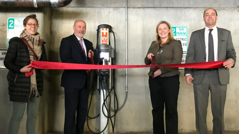 Mayor Madden Announces Installation of Electric Vehicle Charging Station in Downtown Troy