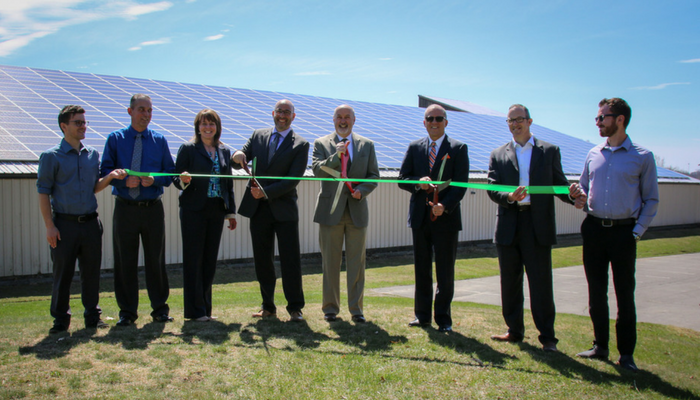 Mayor Madden Announces Completion of Phase One of City's Solar Energy Project