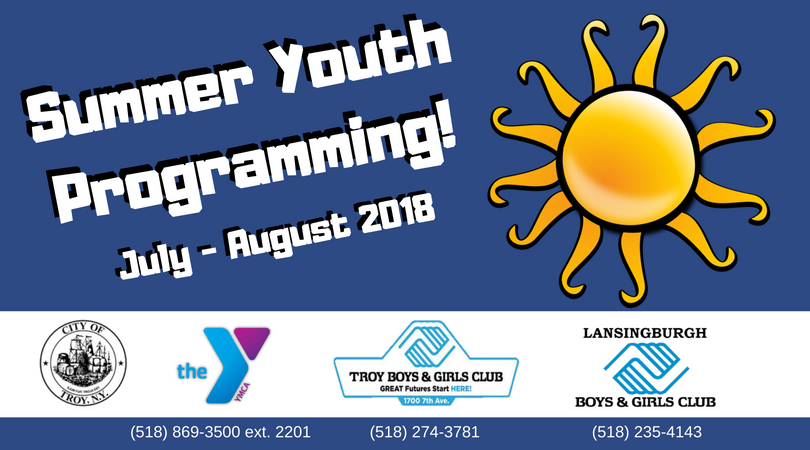 Mayor Madden Announces 2018 Youth Summer Camp Schedule