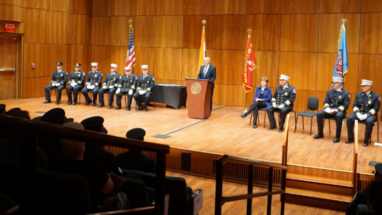Transcript: Mayor Madden Delivers Remarks at 2019 Fire Department Graduation Ceremony