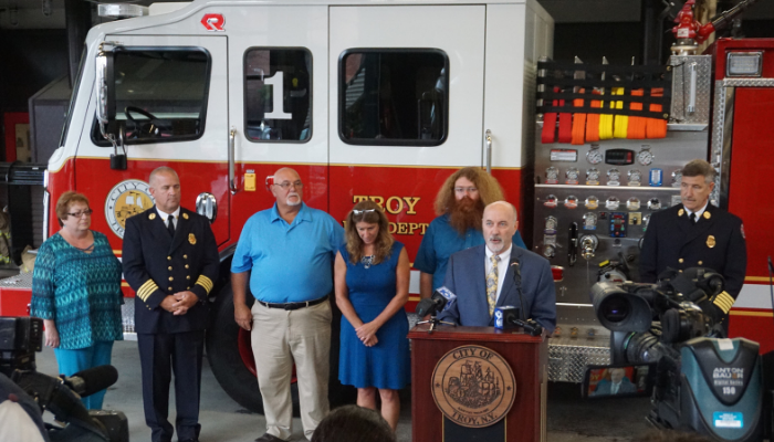 Mayor Madden Announces New Fire Engines for Troy Fire Department, First Since 2009