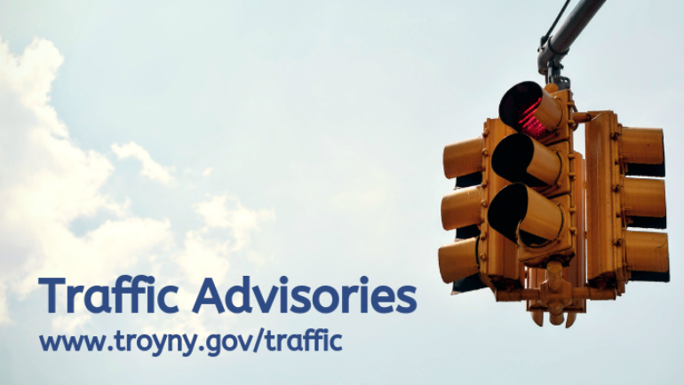 Traffic Advisory Issued for 4th Street