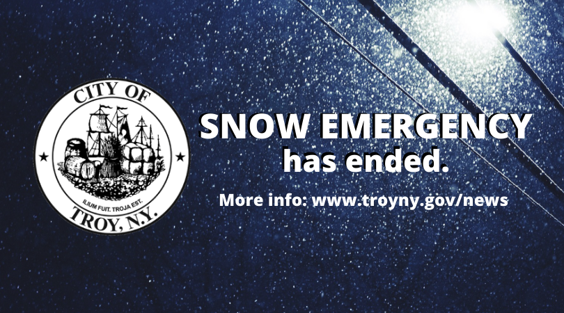 Mayor Madden Announces Conclusion of Snow Emergency