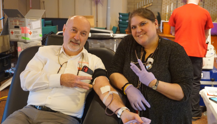 Mayor Madden Donates Blood, Encourages Public to Give Blood with Red Cross to Address Shortage from Coronavirus
