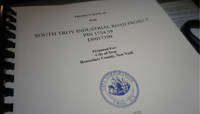 Mayor Madden: City Seeking Bids for South Troy Industrial Park Road Project