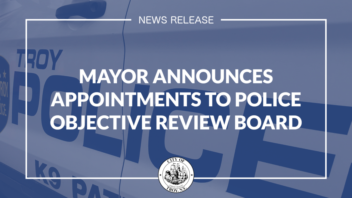 Mayor Madden Announces Appointments to Police Objective Review Board