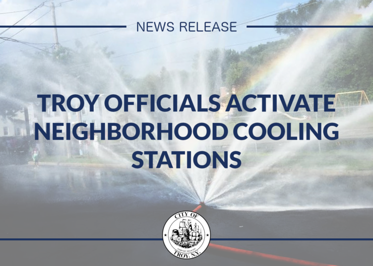Troy Officials Announce Activation of Neighborhood Cooling Stations