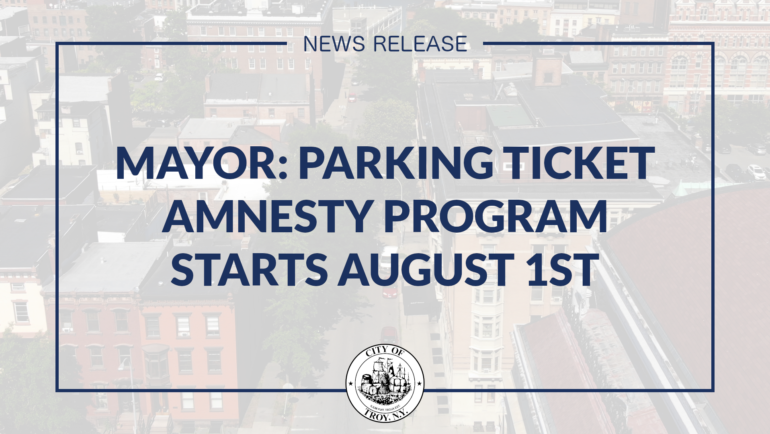 Mayor Madden: Parking Ticket Amnesty Program Starts August 1st