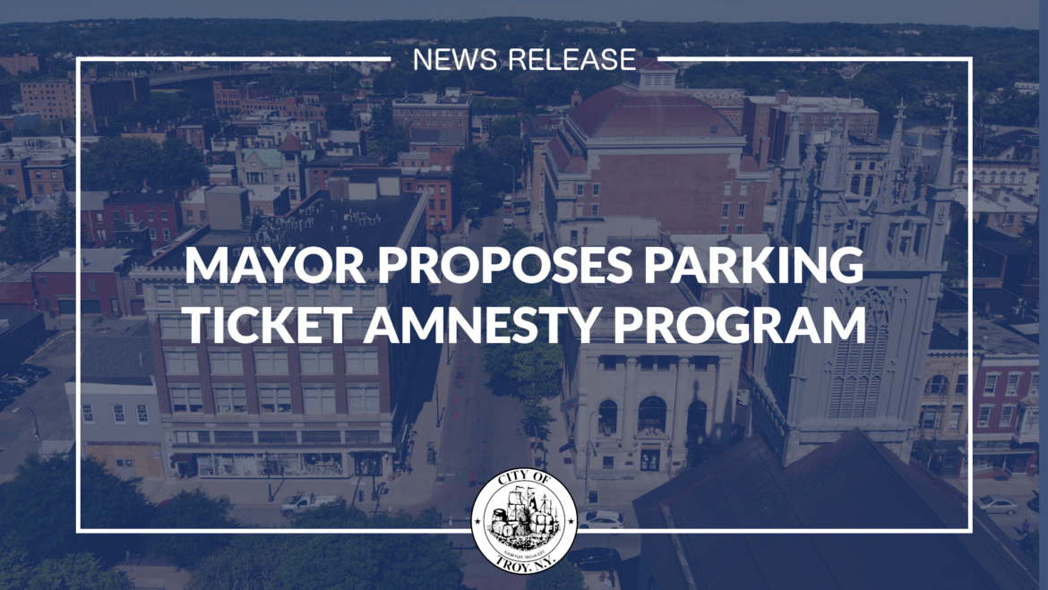 Mayor Madden Proposes Parking Ticket Amnesty Program