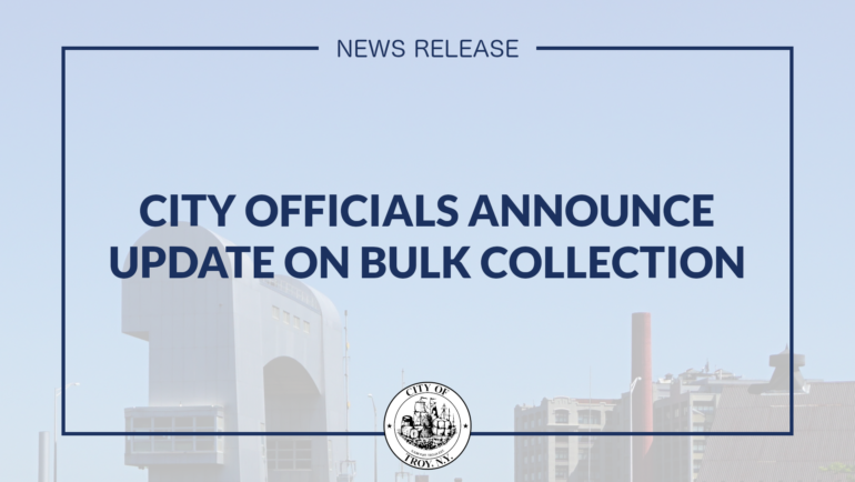 City Officials Issue Update on Bulk Collection
