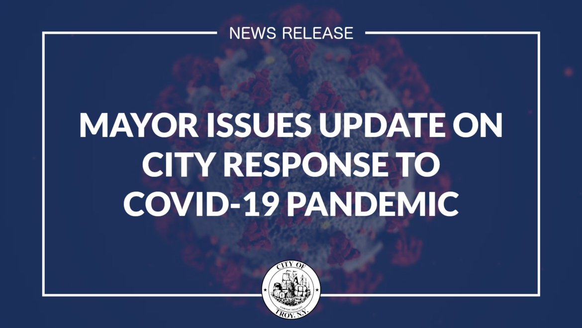 Mayor Madden Issues Update on City's Response to COVID-19 Pandemic