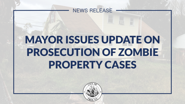 Mayor Madden: City Continues to Make Progress in Prosecuting Zombie Property Cases
