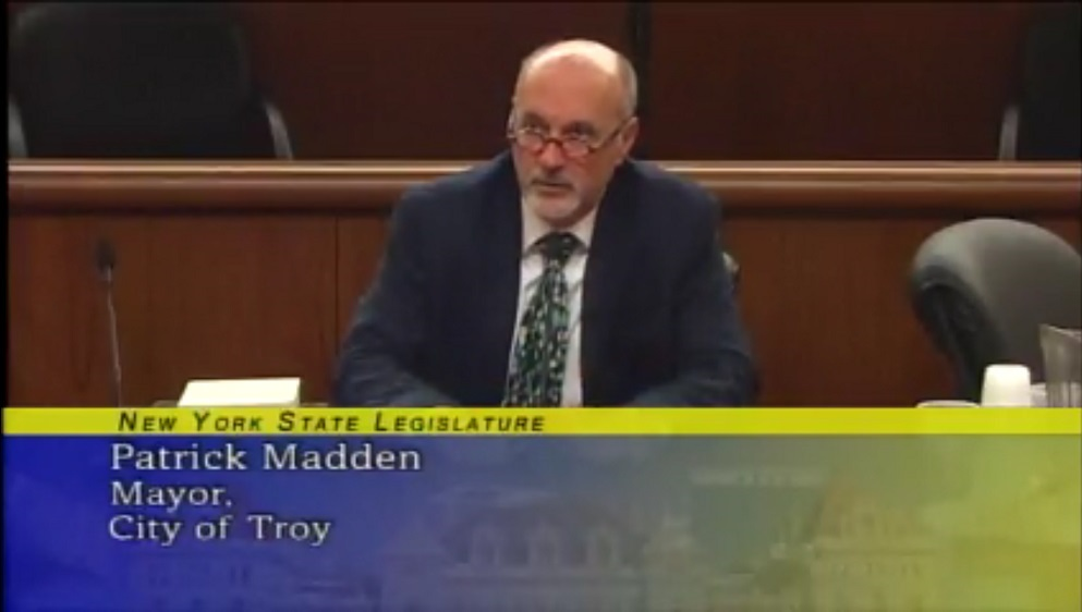 Transcript | Mayor Patrick Madden Testimony to Joint NYS Legislative Budget Committee on Local Governments