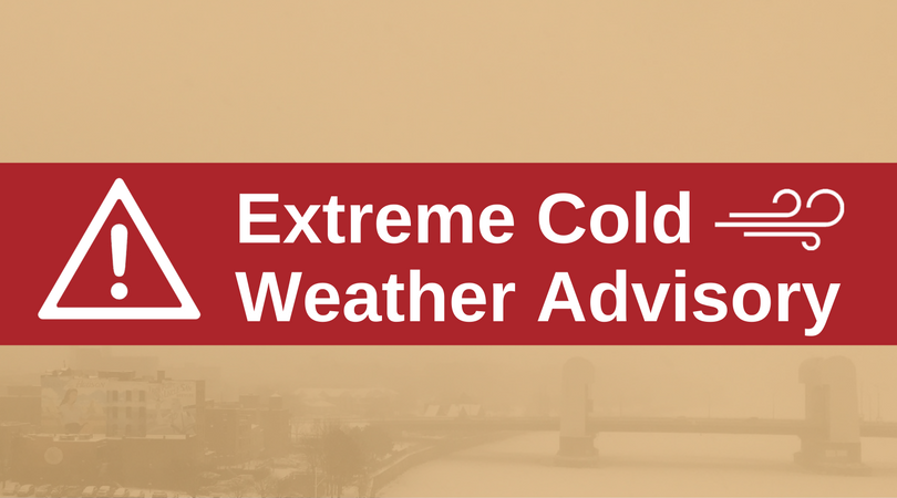 Mayor Madden Issues Extreme Cold Weather Advisory for City of Troy