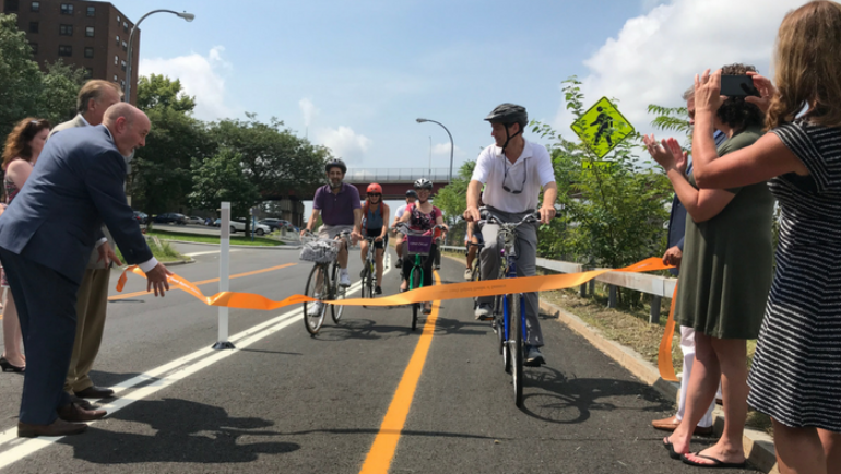 Mayor Madden: First Phase of Uncle Sam Trail Extension Project Complete