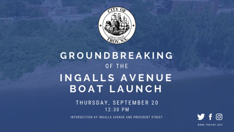 Ingalls Avenue Boat Launch Groundbreaking Ceremony
