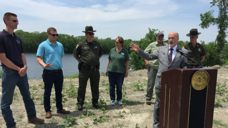 City of Troy, NYS DEC, Riverkeeper Partner on Wynants Kill Dam Removal Project