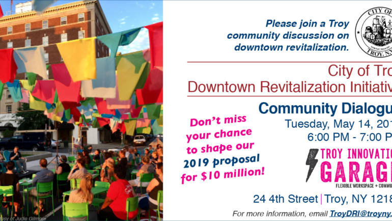 Community Dialogue: Downtown Revitalization Initiative