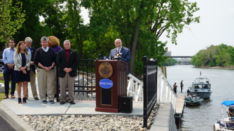 Mayor Madden Announces Completion of Ingalls Avenue Boat Launch