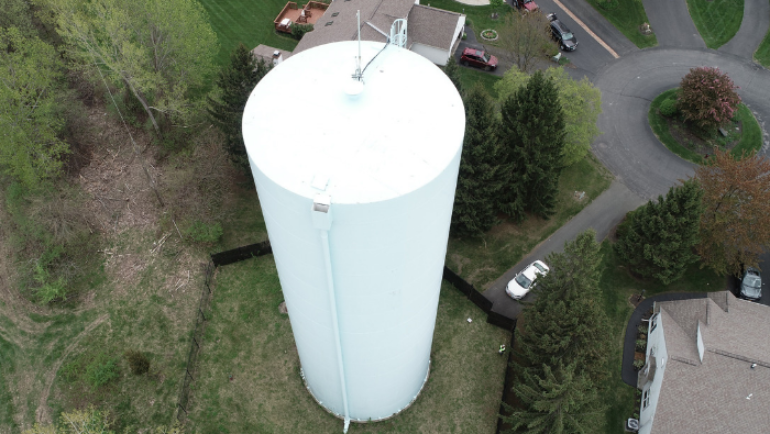 City Officials: Maintenance to Gurley Avenue Water Storage Tank Complete