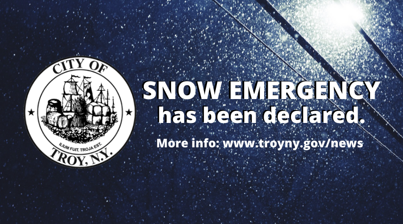 Snow Emergency Declared in City of Troy