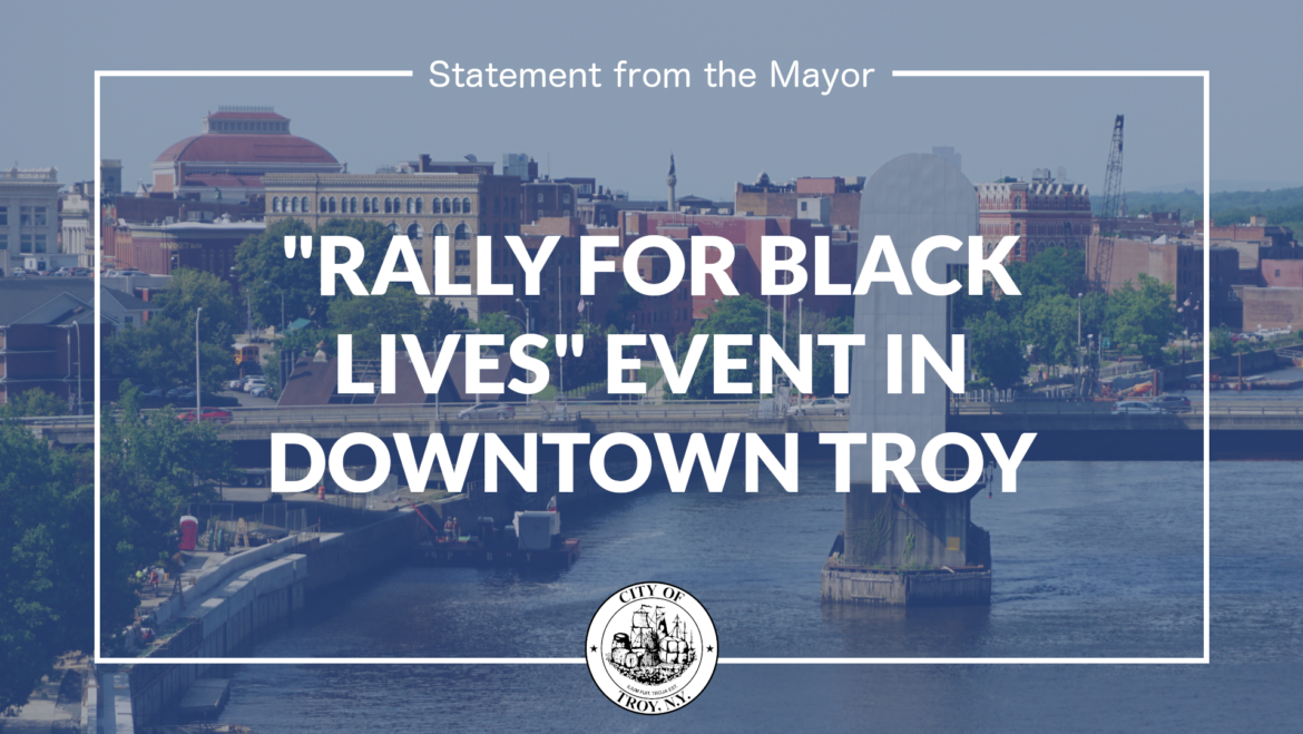 """Statement from Mayor Madden on """"Rally for Black Lives"""" Event"""