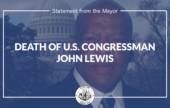Statement from Mayor Madden on the Death of Congressman John Lewis