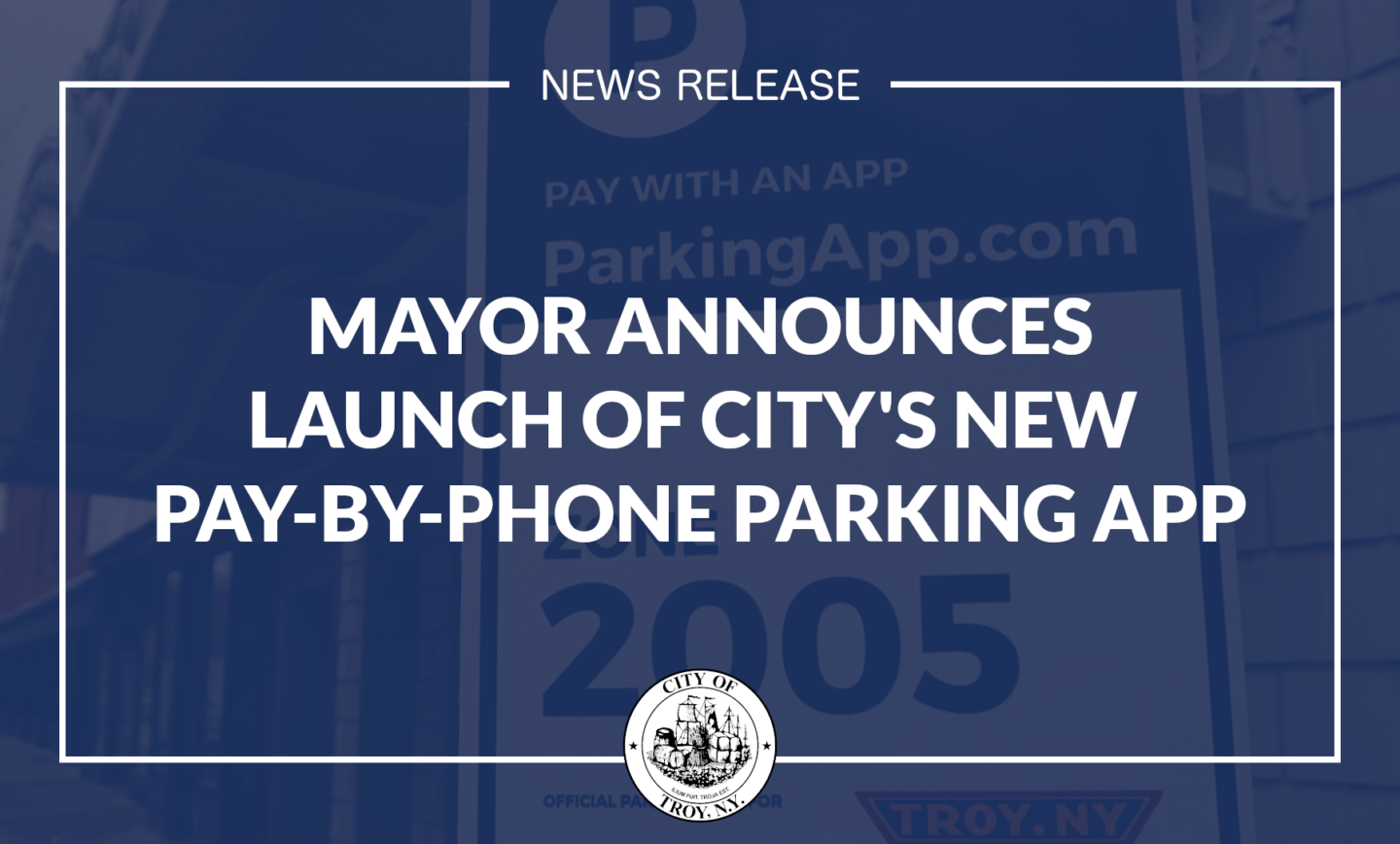 Mayor Announces Launch of City's Mobile Parking App