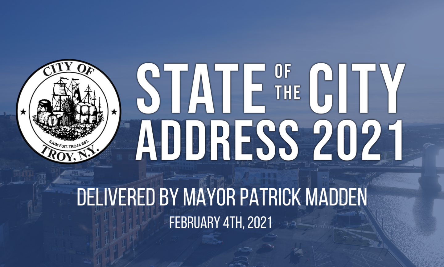 Mayor Madden Delivers 2021 State of the City Address