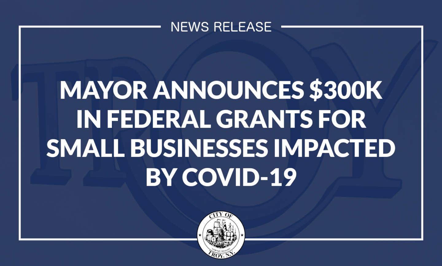 Mayor Madden Announces $300K in Federal Grants for Small Businesses Impacted by Covid-19