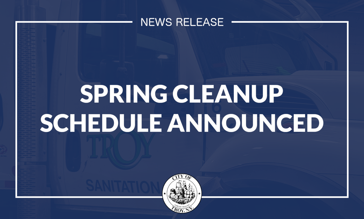 Public Works Gearing Up for Annual Spring Cleanup Program