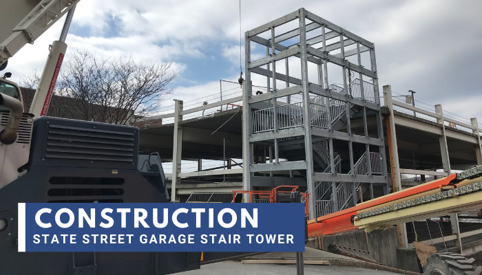 Video: Construction of State Street Garage Stair Tower