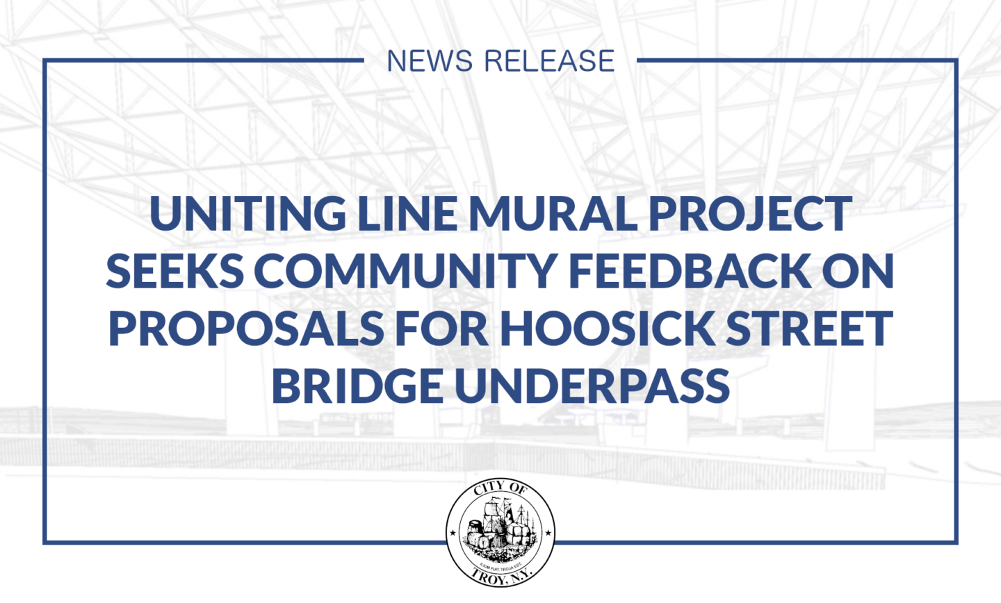 The Uniting Line Mural Project Seeks Community Feedback on Public Art Proposals for the Hoosick Street Underpass