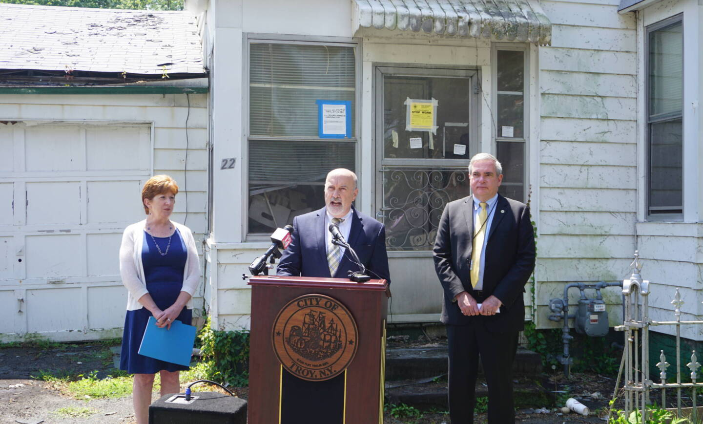 Albany, Schenectady, & Troy Announce Coordinated Zombie Property Enforcement Action