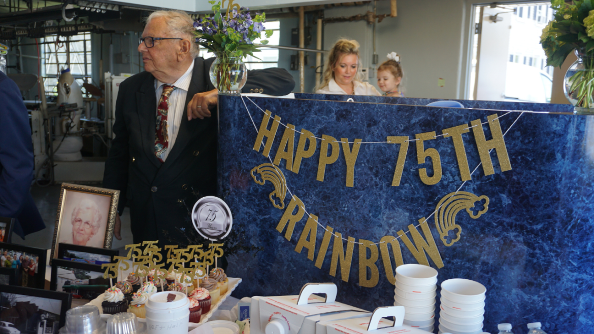 Video: Rainbow Cleaners Celebrates 75th Anniversary in Troy