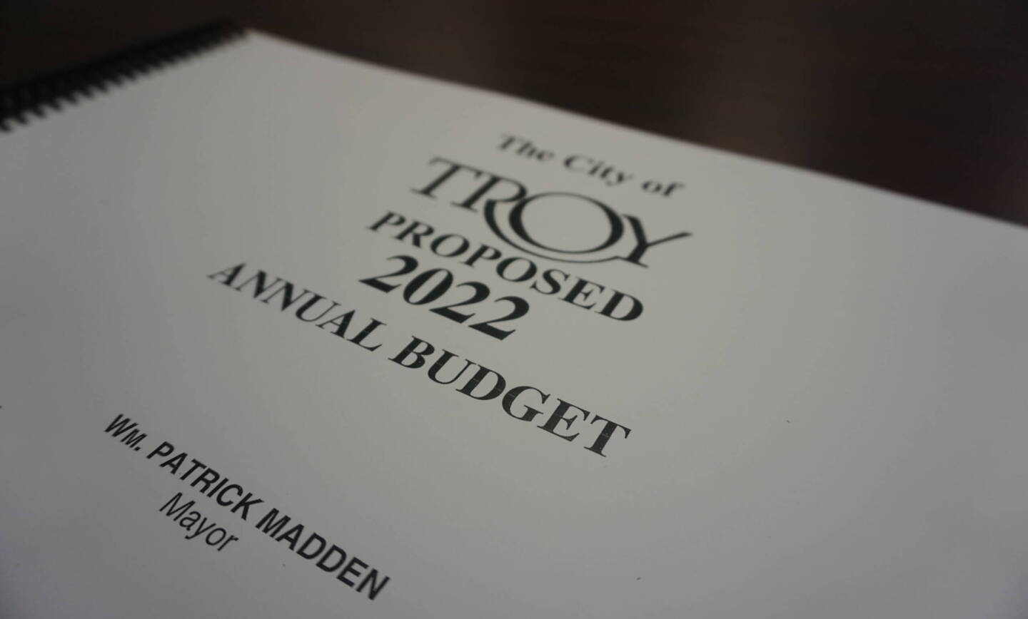 Mayor Madden Releases Proposed 2022 City Budget