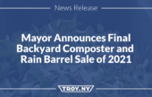 City to Offer Final Backyard Composter and Rain Barrel Sale of 2021